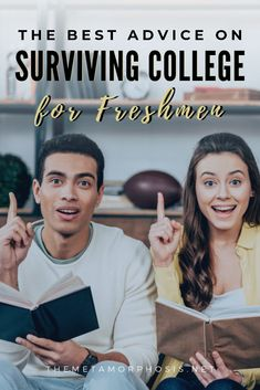 The ultimate college freshman survival guide with the best college success tips. See advice for boosting your gpa, saving on textbooks and more. College Freshman Tips, College Majors, College School Supplies, Scholarships For College, College Hacks, College Fun, College Students, College Schedule, College Packing