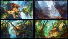 by Real-SonkeS  http://real-sonkes.deviantart.com/art/environment-study-282309398?q=gallery%3Areal-sonkes%2F25328714=8