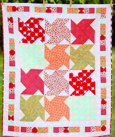 Instant Style: Frame a Quilt Block from Indygojunction.com