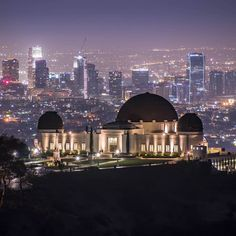Griffith Observatory LA by Salomon Pena | CaliforniaFeelings.com #california #cali #LA #CA #SF