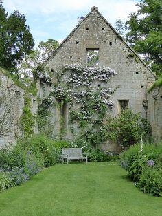 Sudeley Castle walled garden.
