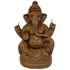 Spiritual Wallpaper, Ganesh Idol, Shri Ganesh, Garden Sculpture, Eco Friendly, Spirituality, Clay, Statue, Detail