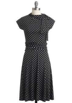 Dance Floor Date Dress in Dots, @ModCloth