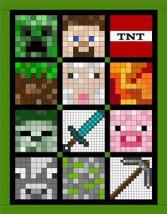 SOQ - Minecraft Quilt                                                                                                                                                     More