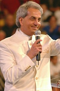 Televangelist Benny Hinn was admitted to the intensive care unit in an Orange County, California hospital this weekend after suffering heart problems in Brazil last week.