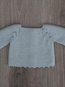 JerseyEspigaAzul Baby Knitting, Crochet Baby, Bebe Baby, Baby Comforter, Knitted Dolls, Baby Accessories, Baby Gifts, Children, Kids