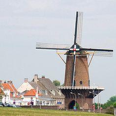"""Korenmolen (Windmill) """"Rijn en Lek"""" - Wijk bij Duurstede - Utrecht"""