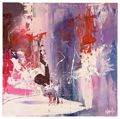 'Blizzard' Original Painting - contemporary - Paintings - Dan Nash Gottfried