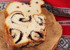 Romanian chocolate cozonac (sweet bread)