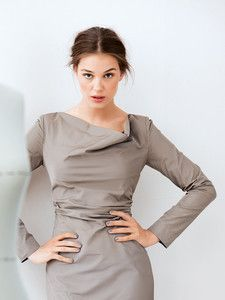 burda style: Damen - Shirts - Langarm-Shirts - Shirt - Wasserfallkragen