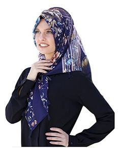 Hijab Scarf New Shawl Style Ready to Wear Fashion Head Scarf -- To view  further 5fcc90ca9e03