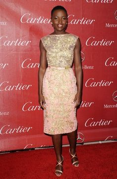 Lupita Nyong'o - 2014 Palm Springs International Film Festival