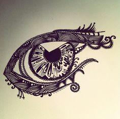 ○● Elissa doonan ●○ | Fineliner drawing | Regarde