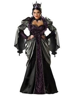 Elite Womens Plus Wicked Queen Costume   Plus Size Plus Size Halloween Costumes   OneStopPlus