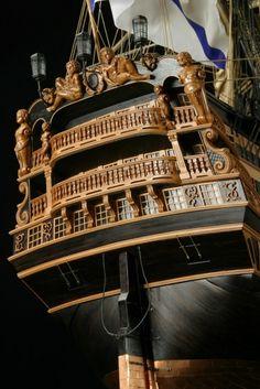 Модели парусных кораблей Treh Hierachov 1782