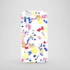 Watercolour Doodles phone case / watercolour phone case / iPhone 6 / iPhone 5/5S / iPhone 5C / Samsung Galaxy S6 / Galaxy S3 / FREE UK SHIPPING  Say