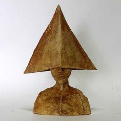 Oblivion/Ceramic Sculpture/ Unique Ceramic Figurine/Ceramic Sculpture/ art ceramic by arekszwed on Etsy