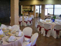 Restaurante del Centro de rutas guiadas y alojamiento rural La Escarihuela