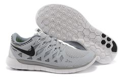 buy online e2a6c 72e88 351 Nike Free Run Femme Homme Noir Gris Clair Pas Cher calzado de marca  outlet online shop