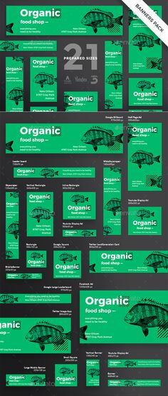 Organic Food Banner Pack - Banners & Ads Web Elements Download here : https://graphicriver.net/item/organic-food-banner-pack/21184462?s_rank=138&ref=Al-fatih