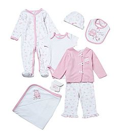 Starting Out Newborn6 Months 7Piece Owl Layette Set #Dillards
