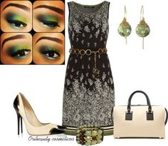 """""""Greens"""" by oribeauty-cosmeticos on Polyvore"""