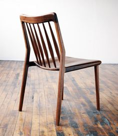 A Jason Lewis piece... the tilted back makes this a great chair on your lower back.