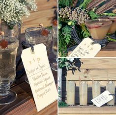Bebidas boda Firma: Cócteles de invierno