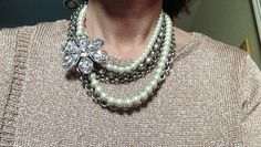 One way to pull together a drab outfit, jacket, or even a necklace is to add a pin. And we know you have some lurking in the bottom of your jewelry box, right? I have pins that came attached to blouses long discarded. One of my favorite pieces of jewelry is a pin my mom gave to my grandmother over 60 years ago. Make sure to wear your pin on a sturdy fabric to avoid pulling or leaving a hole. #pinit #asburylanestyle