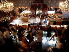 """The phenomenon of Secret Bars has been on the rise in Buenos Aires. What is a secret bar? Well, the idea harks back to the prohibition era of the United States and the idea of the """"Speakeasy. Places Around The World, Travel Around The World, Franks Bar, Patagonia, Art Nouveau, Secret Bar, Secret Location, Argentina Travel, Secret Places"""