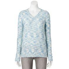 Croft & Barrow® Tape Yarn Sweater - Women's