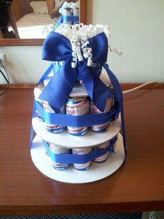 Beer cake for the groomsmen
