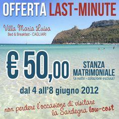 #lastminute #sardegna #sardinia #cagliari #bbvillamarialuisa #poetto #vacanze #summer #lowcost - Viaggiare in Sardegna approfittando di questo last-minute, soggiornare in uno splendido B e visitare Cagliari e la Sardegna davvero low-cost... Vi aspettiamo!