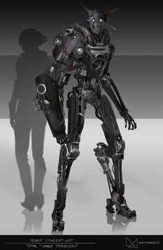 Drone Design : Check out this project: Robot Concept art / TOTAL advert. Drone Design : Check out this project: Robot Concept art / TOTAL advertising www Arte Robot, Robot Art, Star Wars Rpg, Star Wars Droids, Character Concept, Character Art, Arte Cyberpunk, Robots Characters, Cyborgs