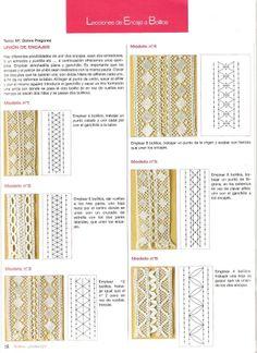 leçons de dentelle aux fuseaux (compilation de L.H espagnol) - Maggi Rivera - Picasa Web Albums