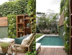 jardim vertical na piscina - Pesquisa Google