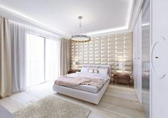Projekt wnętrz średniego mieszkania. Kompilacja klasycznych styli ze współczesna formą