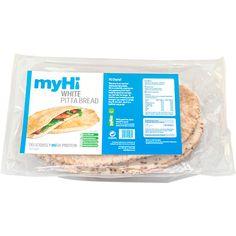 myHi White Pitta Breads
