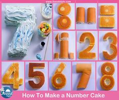 Awesome Number Cake idea ! - Foood Style