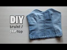 DIY Bralet / Crop Top