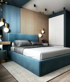 32 Gorgeous Bedroom Sets You Definitely Like - A bed is basically used for sleeping and sometimes for relaxing, working, exercising and reading. There are many styles and types of bedroom sets avai. Luxury Bedroom Design, Bedroom Furniture Design, Master Bedroom Design, Home Decor Bedroom, Interior Design, Master Suite, Budget Bedroom, Bedroom Modern, Furniture Layout