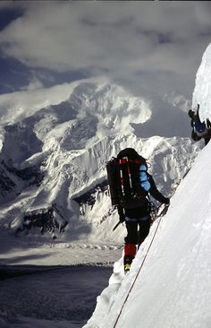 Gasherbrum III, traverse at 6400m