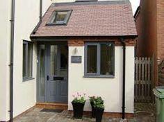 Enjoyable front porch design click now Porch Uk, Front Door Porch, Front Porch Design, Side Porch, House With Porch, House Front, Porch Designs, Garage Design, Front Doors