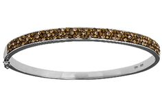 Silver 925 Rhodium, plated bracelet with crystal stones.