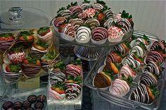 chocolate strawberry birthday gift baskets - Google Search