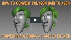 -In this tutorial I'll show you how to convert polygons to Xgen Hair guides. -Model used Malcolm 2.0 courtesy of AnimSchool.com, Donwload the free rig in its…