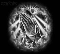 praying hands with rosary   Praying Hands with Rosary - 42-18719942 - Rights Managed - Stock Photo ...