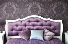 Purchase Photo Backgrounds Purple Bedroom Interior Backdrops Headboard Photo Studio for Baby Photography from Felix Honey on OpenSky. Share and compare all Electronics. White Pillows, White Bedding, Bed Pillows, Best Cooling Mattress, Best Mattress, Bedroom Couch, Master Bedroom, Bedroom Decor, Bedroom Ideas