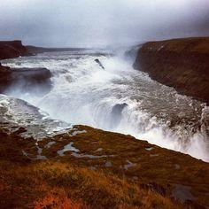 Gulfoss - Islande - @papilles- #webstagram