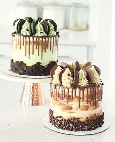 Matcha tea and nettle cake - HQ Recipes Candy Cakes, Cupcake Cakes, Cupcakes, Nutella Birthday Cake, Drippy Cakes, Drop Cake, Fondant, Just Cakes, Specialty Cakes